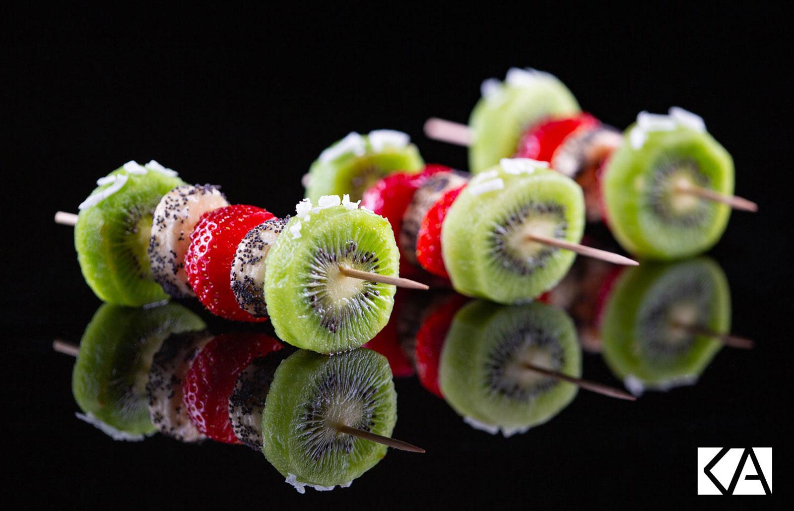 Brochettes Kiwi de l'Adour et fraises