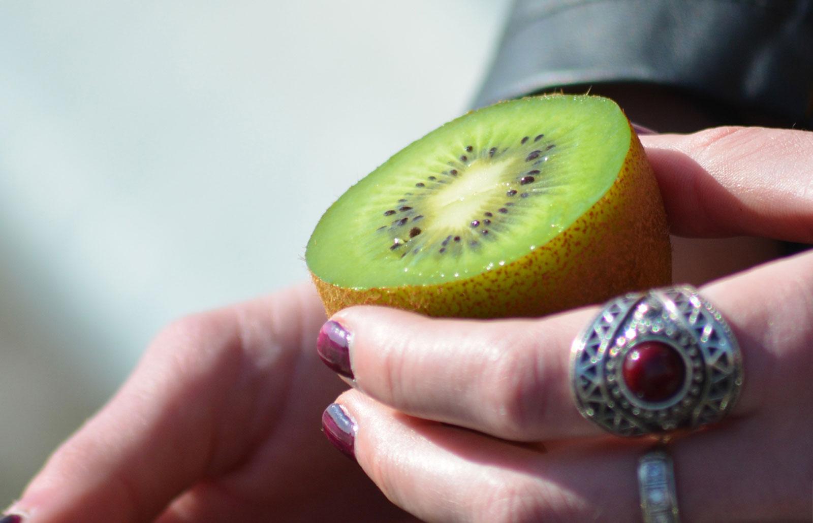 Kiwi de l'Adour nature à la petite cuillère