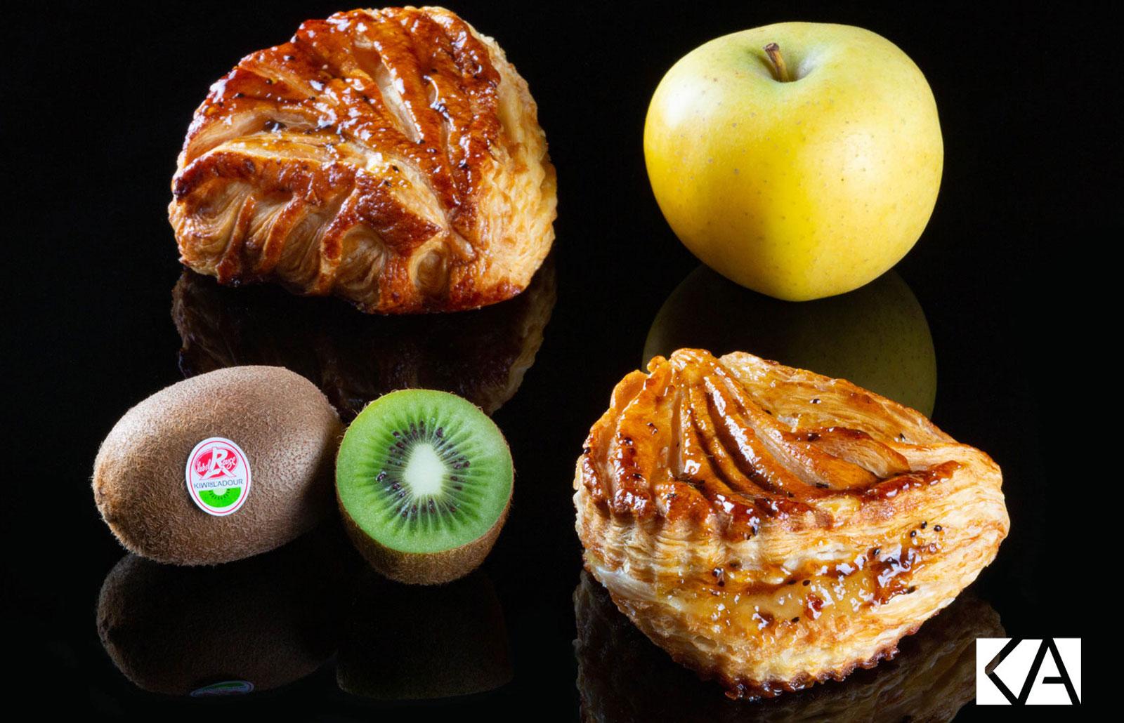 Chausson au pomme et Kiwi de l'Adour