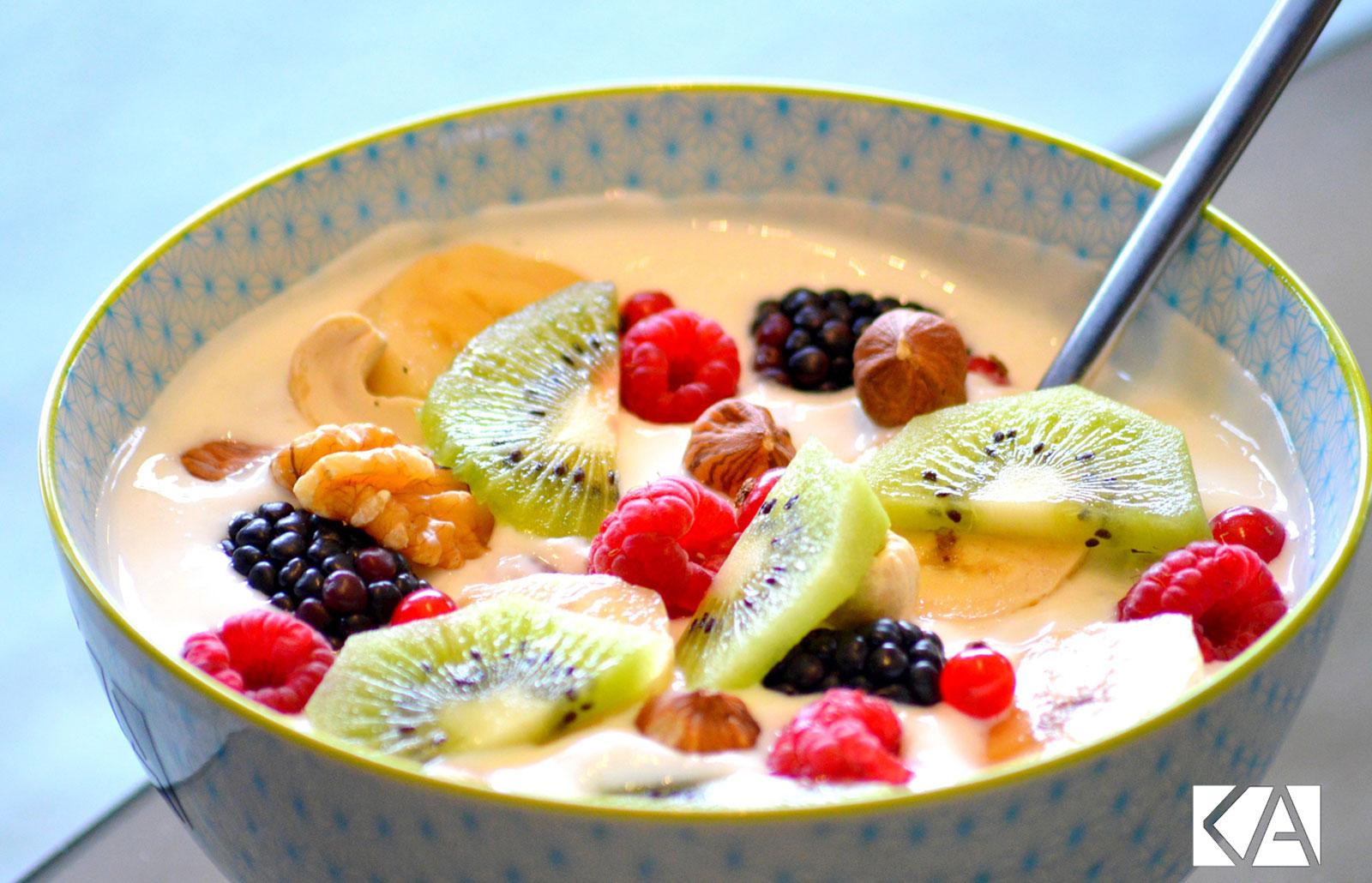 Petit déjeuner vitaminé au Kiwi de l'Adour