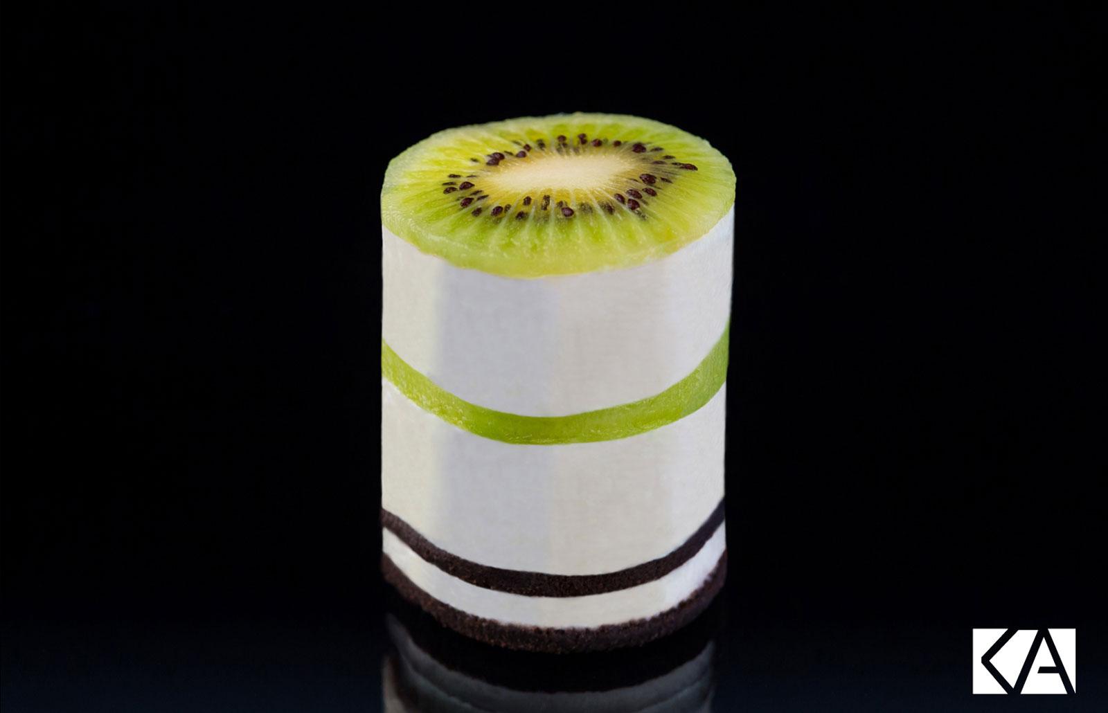 Cheesecake Oreo et Kiwi de l'Adour