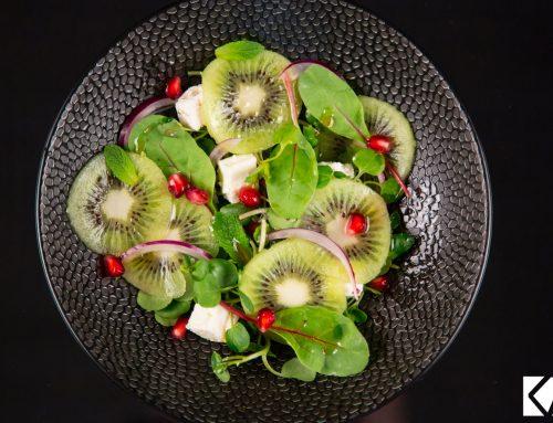 Salade toute verte au Kiwi de l'Adour