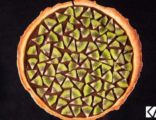 Recette tarte ChocoKA au Kiwi de l'Adour