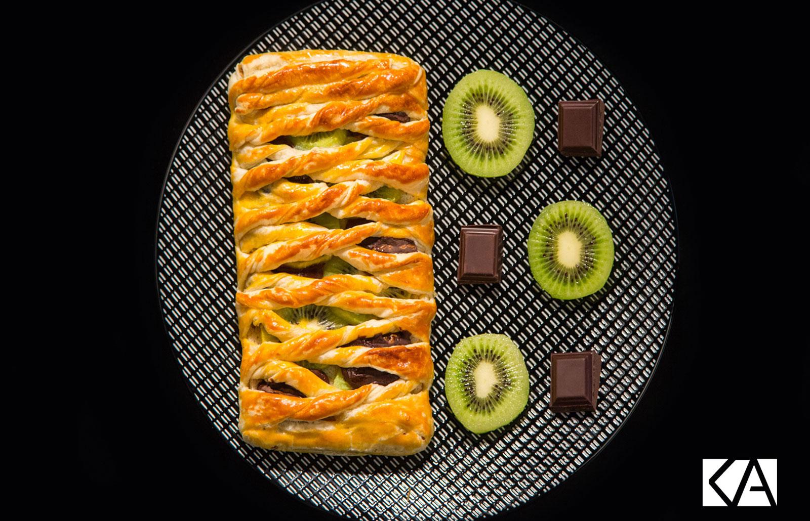 Tresse chocolat et Kiwi de l'Adour