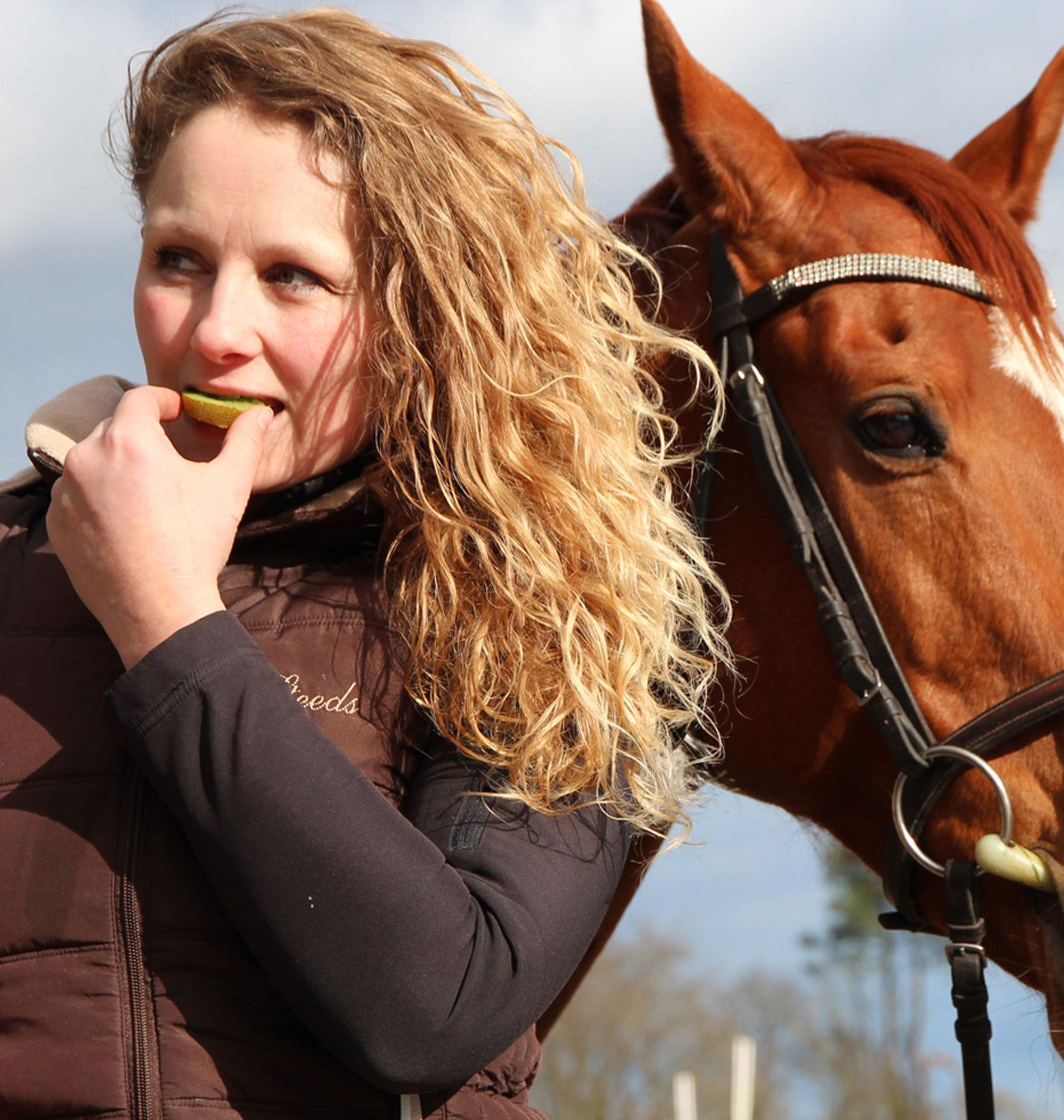 Équitation avec Kiwi de l'Adour
