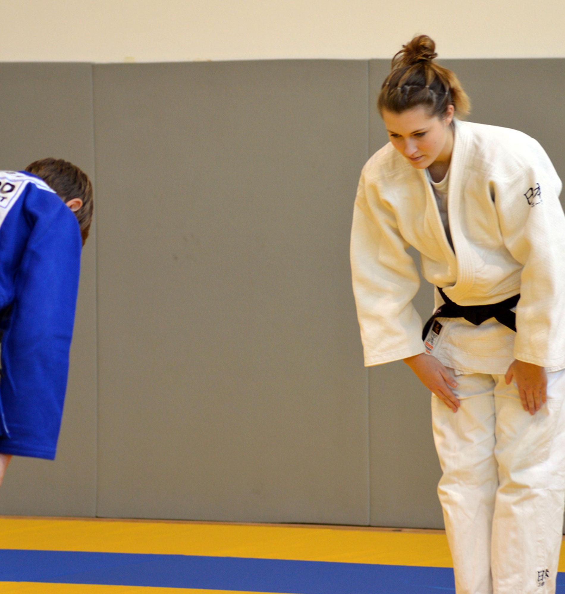 Judo avec Kiwi de l'Adour