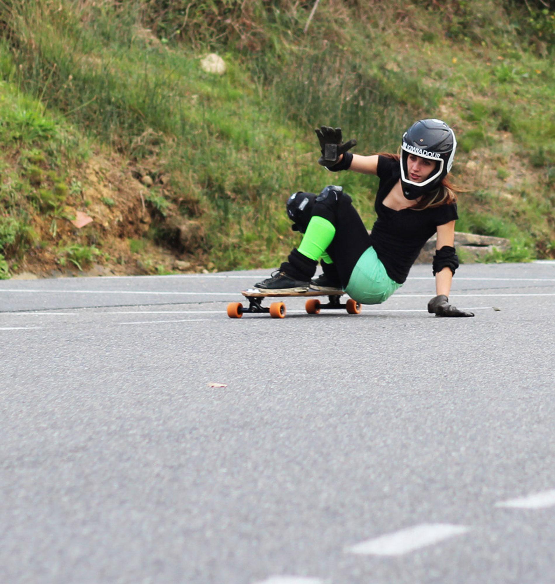 Skate freeride à Biarritz