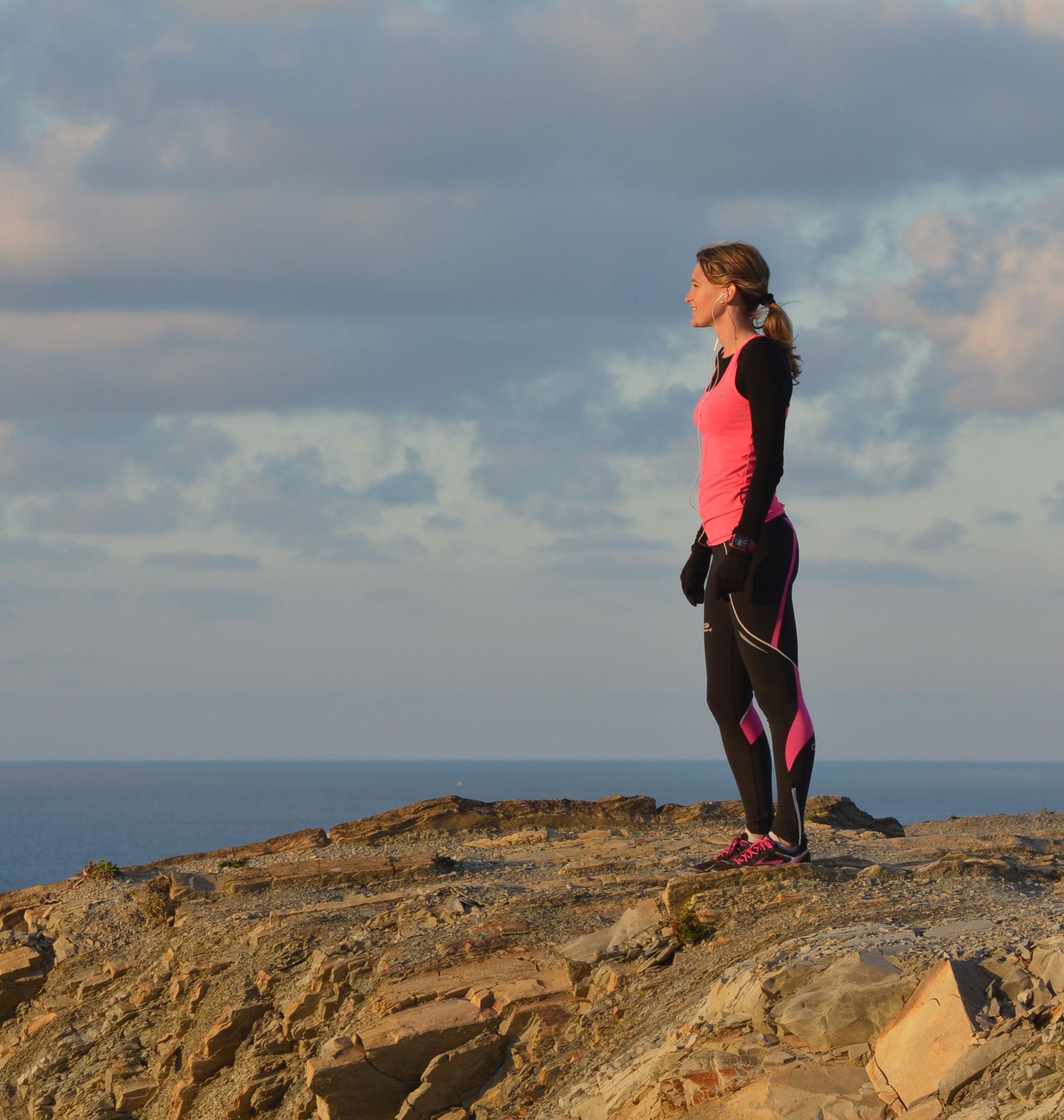 Running sur la côte Basque à Hendaye