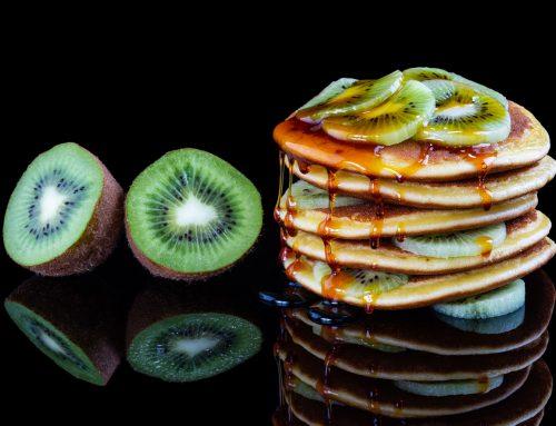 Recette de pancakes moelleux au Kiwi de l'Adour