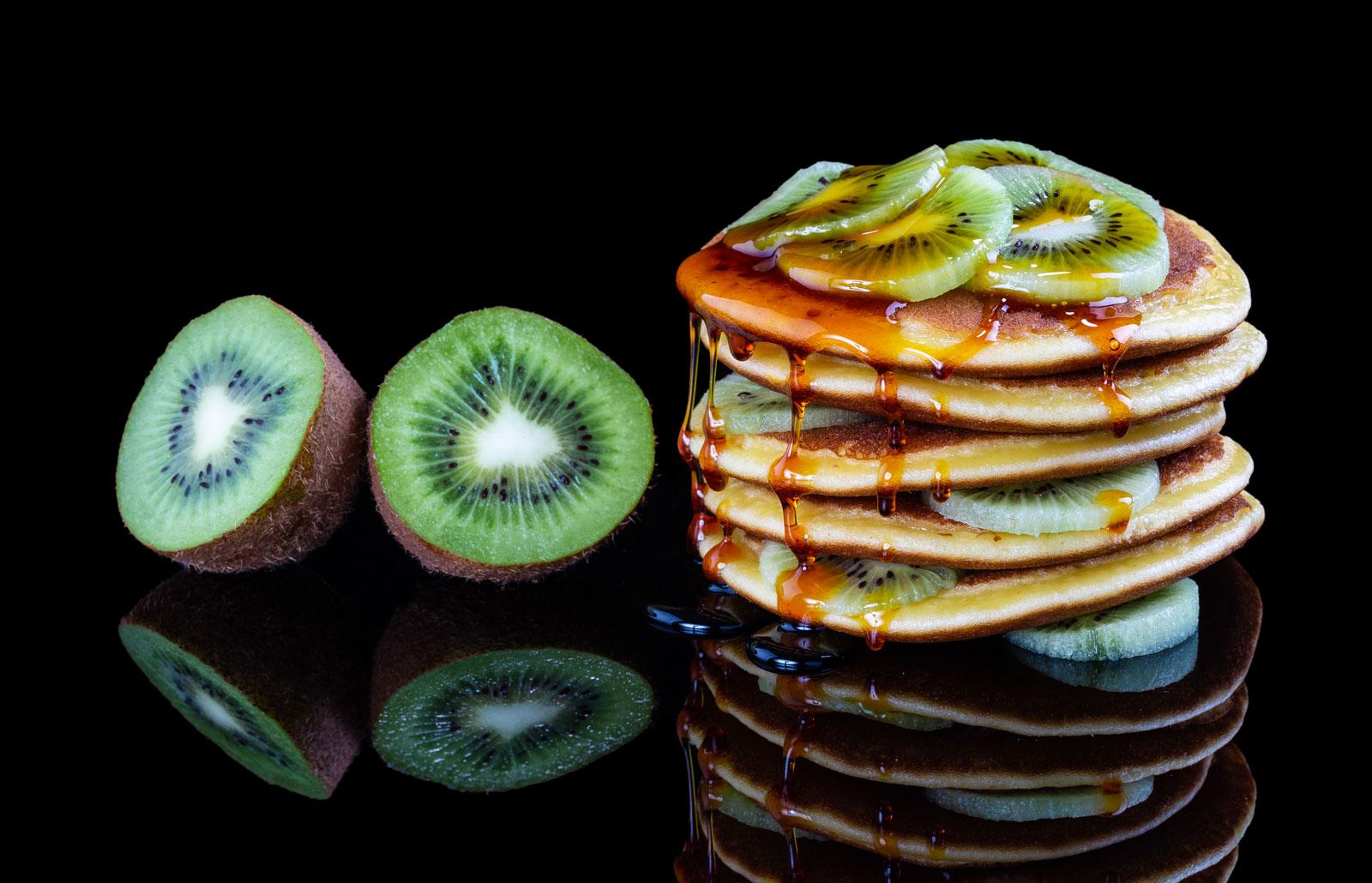 Recette de pancakes au Kiwi de l'Adour