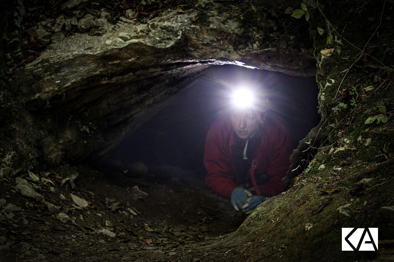 le Kiwi de l'Adour vitamine les explorations spéléologiques de Valérie et Virginie