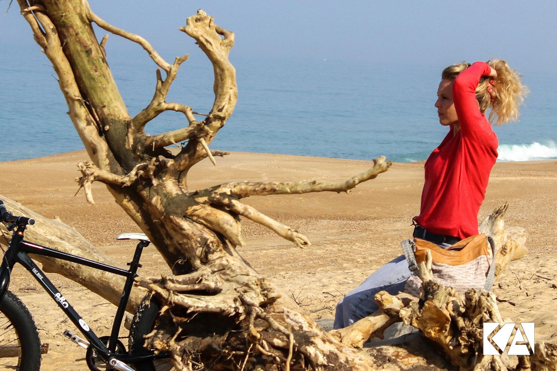 Elsa, sport au quotidien et vitamines avec le Kiwi de l'Adour