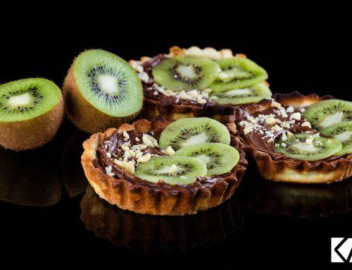 Recette tartelette chocolat-noisette et Kiwi de l'Adour
